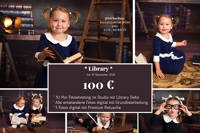 Aktion Fotoshooting Magdeburg Library 2018